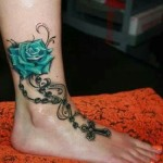 Tattoos on Girls 7 150x150 - 100's of Tattoos on Girls Design Ideas Pictures Gallery