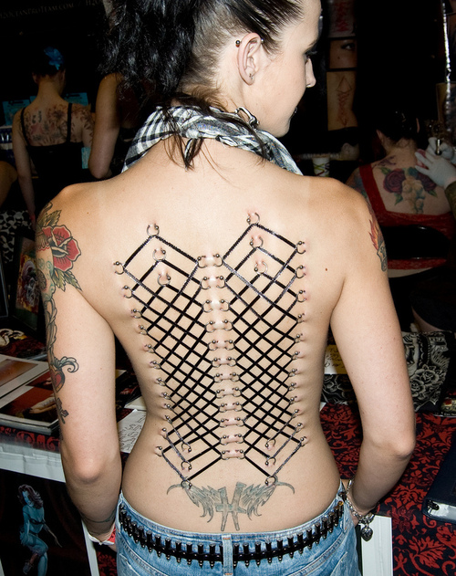 Temporary Tribal Tattoo