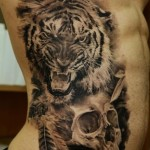 Tiger Tribal Tattoo2 150x150 - 100's of Tiger Tribal Tattoo Design Ideas Pictures Gallery