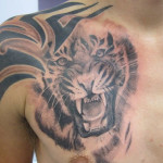 Tiger Tribal Tattoo3 150x150 - 100's of Tiger Tribal Tattoo Design Ideas Pictures Gallery