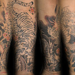 Tiger and Dragon 11 150x150 - 100's of Tiger and Dragon Tattoo Design Ideas Pictures Gallery