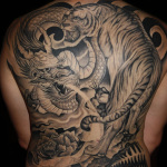 Tiger and Dragon 12 150x150 - 100's of Tiger and Dragon Tattoo Design Ideas Pictures Gallery