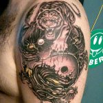 Tiger and Dragon 3 150x150 - 100's of Tiger and Dragon Tattoo Design Ideas Pictures Gallery