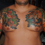 Tiger and Dragon 5 150x150 - 100's of Tiger and Dragon Tattoo Design Ideas Pictures Gallery