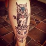 Totem 2 150x150 - 100's of Totem Tattoo Design Ideas Pictures Gallery