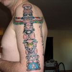 Totem 5 150x150 - 100's of Totem Tattoo Design Ideas Pictures Gallery