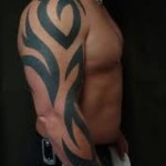 Tribal Arm Tattoo1 150x150 - 100's of Tribal Arm Tattoo Design Ideas Pictures Gallery