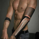 Tribal Arm Tattoo2 150x150 - 100's of Tribal Arm Tattoo Design Ideas Pictures Gallery