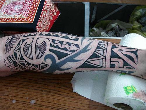 Tribal Band Tattoo