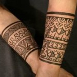 Tribal Band Tattoo1 150x150 - 100's of Tribal Band Tattoo Design Ideas Pictures Gallery