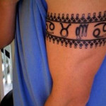 Tribal Band Tattoo11 150x150 - 100's of Tribal Band Tattoo Design Ideas Pictures Gallery