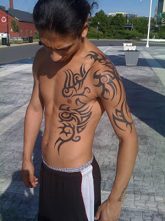 Tribal Body Tattoo9 - 100's of Tribal Body Tattoo Design Ideas Pictures Gallery