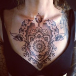 Tribal Chest Tattoo2 150x150 - 100's of Chest Tattoo Design Ideas Picture Gallery