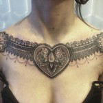 Tribal Chest Tattoo3 150x150 - 100's of Chest Tattoo Design Ideas Picture Gallery