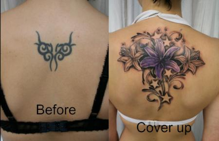 Tribal Cover Up Tattoo
