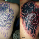 Tribal Cover Up Tattoo10 150x150 - 100's of Tribal Cover Up Tattoo Design Ideas Pictures Gallery