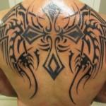 Tribal Cross Tattoo7 150x150 - 100's of Tribal Cross Tattoo Design Ideas Pictures Gallery
