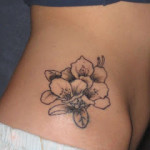 Tribal Flower Tattoo5 150x150 - 100's of Tribal Flower Tattoo Design Ideas Pictures Gallery