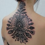 Tribal Flower Tattoo7 150x150 - 100's of Tribal Flower Tattoo Design Ideas Pictures Gallery