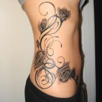 Tribal Flower Tattoo9 150x150 - 100's of Tribal Flower Tattoo Design Ideas Pictures Gallery