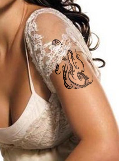 100's of Virgo Tattoo Design Ideas Pictures Gallery