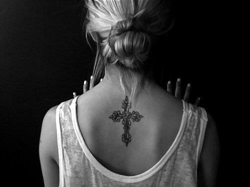 100's of Women Cross Tattoo Design Ideas Pictures Gallery