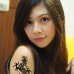 Women Dragon 8 150x150 - 100's of Women Dragon Tattoo Design Ideas Pictures Gallery
