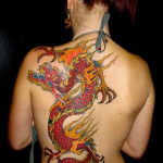 Women Dragon 9 150x150 - 100's of Women Dragon Tattoo Design Ideas Pictures Gallery