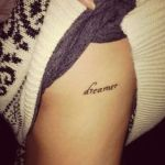 Word Tattoo4 150x150 - 100's of Word Tattoo Design Ideas Pictures Gallery
