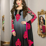 0010990 tranquil black pink gray anarkali salwar kameez 150x150 - Anarkali Salwar kameez Design Ideas Pictures Gallery