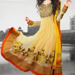 25038 indian yellow anarkali salwar kameez at low cost 150x150 - Anarkali Salwar kameez Design Ideas Pictures Gallery