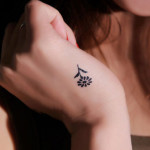 31 Small Flower Tattoo1 150x150 - Small Tattoos Design Ideas Pictures Gallery