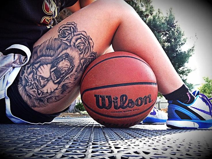 basketball tattoos