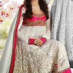 7213 pink and off white net anarkali salwar kameez 150x150 - Anarkali Salwar kameez Design Ideas Pictures Gallery