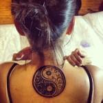 yin yang tattoo