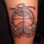 Basketball Arm Tattoos 520x551 150x150 - Basketball Tattoos Design Ideas Pictures Gallery