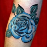 Blue Rose Tattoo 150x150 - Blue tattoos Tattoos Design Ideas Pictures Gallery