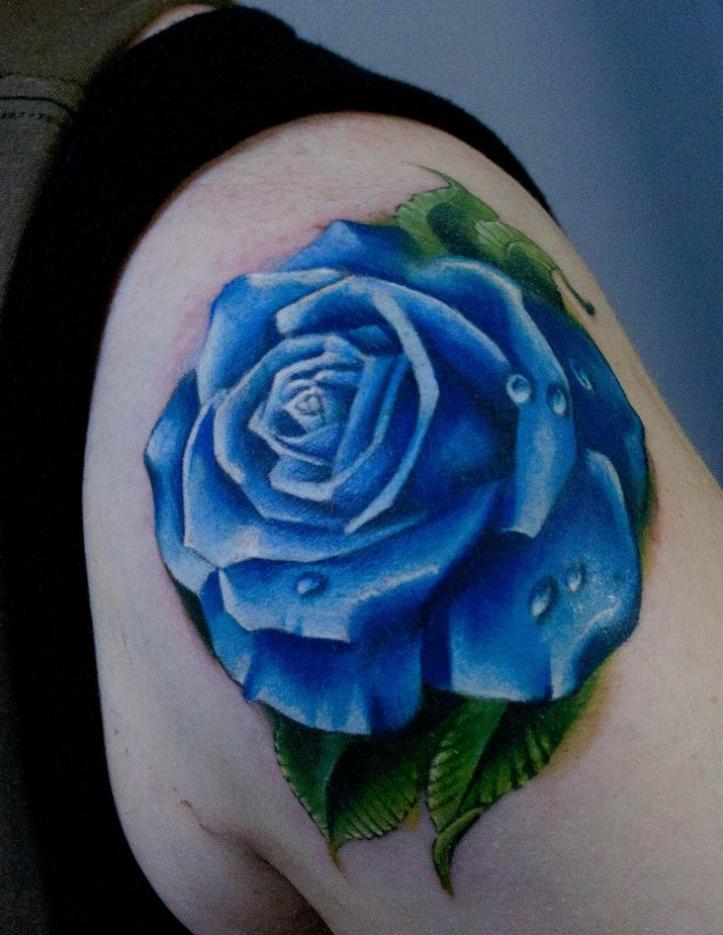 Blue tattoos Tattoos Design Ideas Pictures Gallery