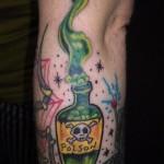 Bottle Tattoos 71 150x150 - Bottle Tattoos Design Ideas Pictures Gallery