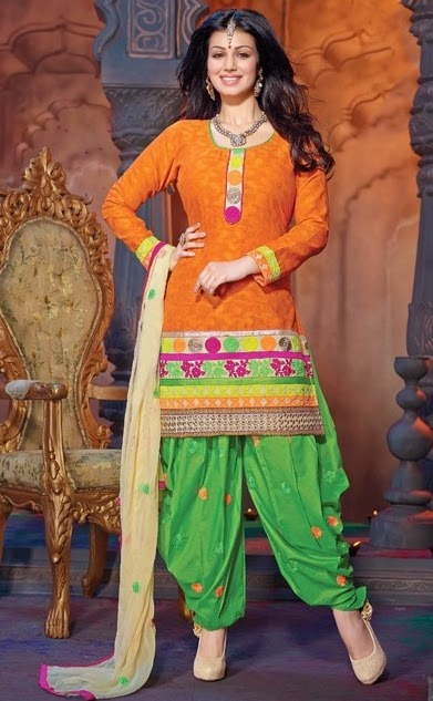 Dhoti Salwar Kameez Suits Designs Clothing9.blogspot.com 5 - Dhoti Salwar kameez Design Ideas Pictures Gallery