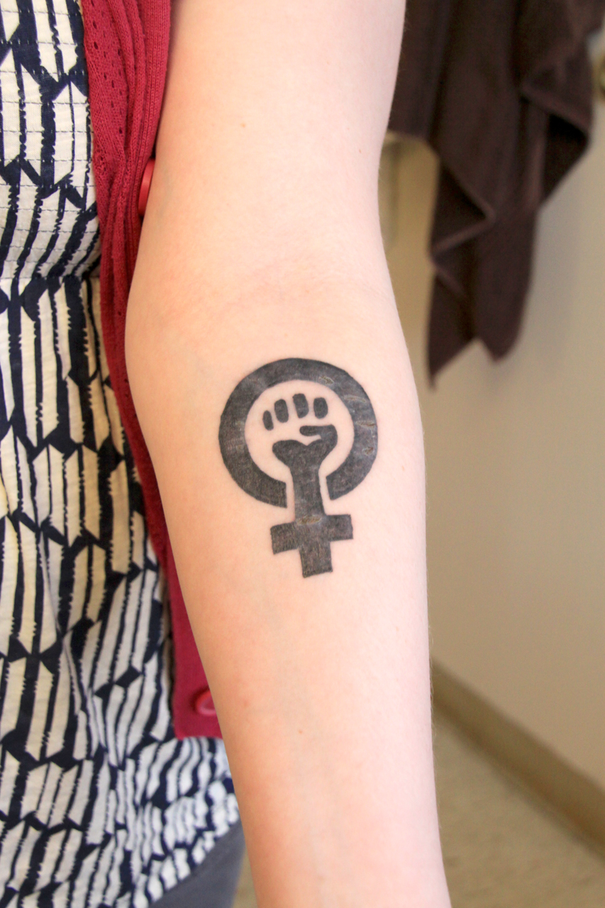 Feminis Tattoo 11 - Feminist Tattoos Design Ideas Pictures Gallery
