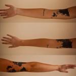 Globe tattoo (1)