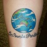 Globe tattoo (10)