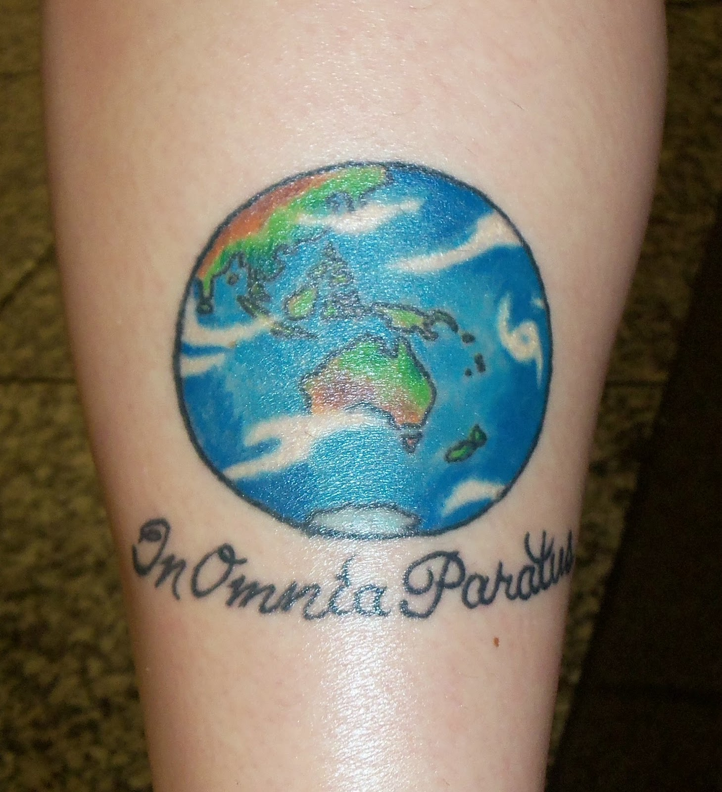 Globe Tattoos Design Ideas Pictures Gallery