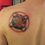 Globe tattoo 11 150x150 - Globe Tattoos Design Ideas Pictures Gallery