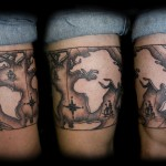 Globe tattoo 14 150x150 - Globe Tattoos Design Ideas Pictures Gallery