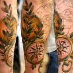 Globe tattoo 6 150x150 - Globe Tattoos Design Ideas Pictures Gallery