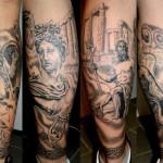 Greek Tattoo 1 150x150 - Greek Tattoos Design Ideas Pictures Gallery