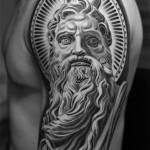 Greek Tattoo 11 150x150 - Greek Tattoos Design Ideas Pictures Gallery