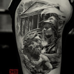 Greek Tattoo 12 150x150 - Greek Tattoos Design Ideas Pictures Gallery